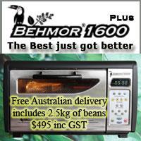 Behmor Coffee Roaster