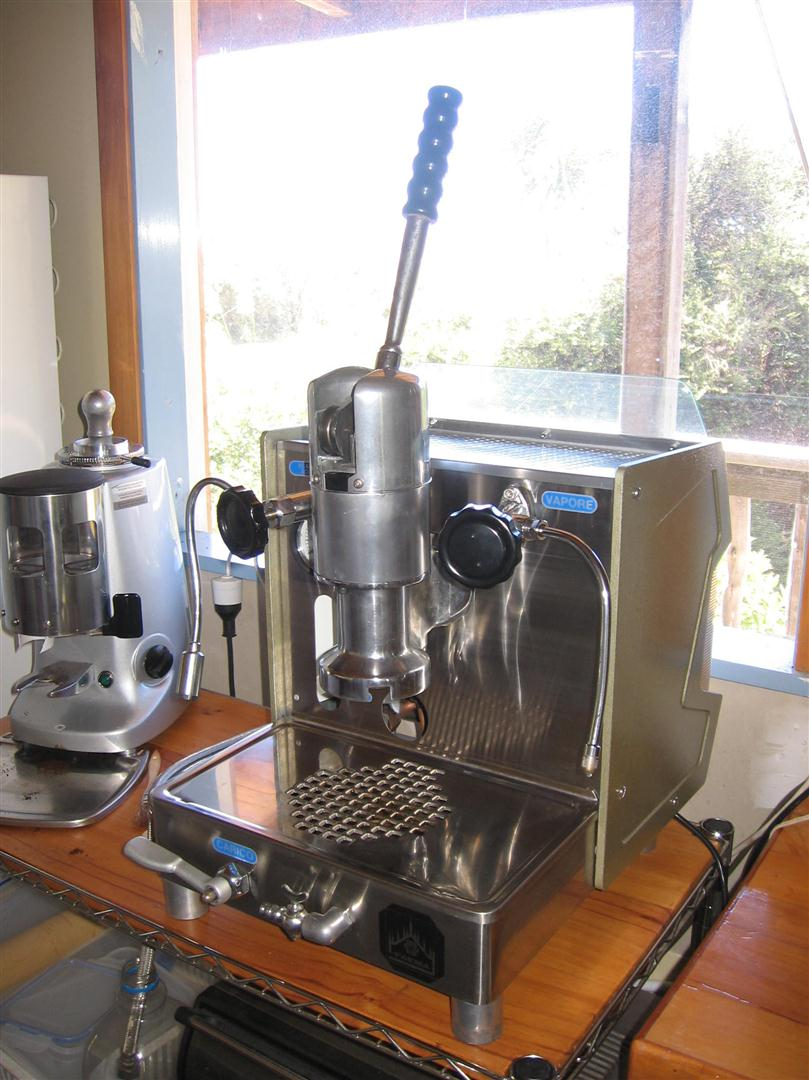 used lever espresso machine for sale