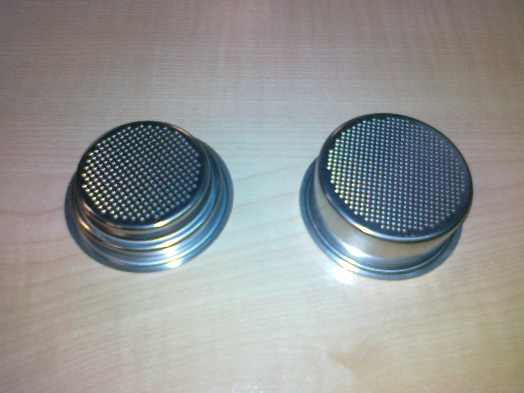 Breville Coffee Maker Filter Size : Breville single wall filter set available