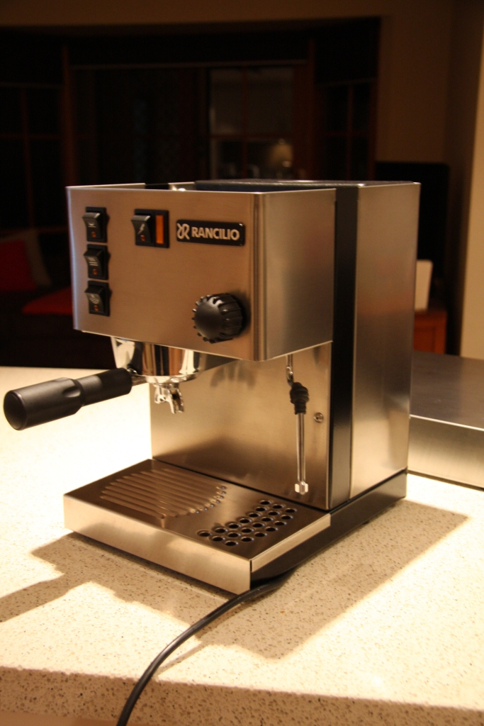 Sold Rancilio Silvia Coffee Machine Amp Rocky Doser