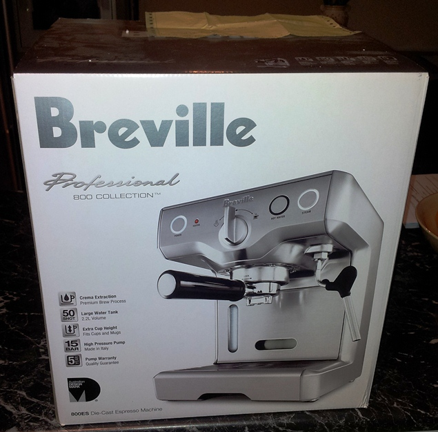 Breville espresso machine 800es manual
