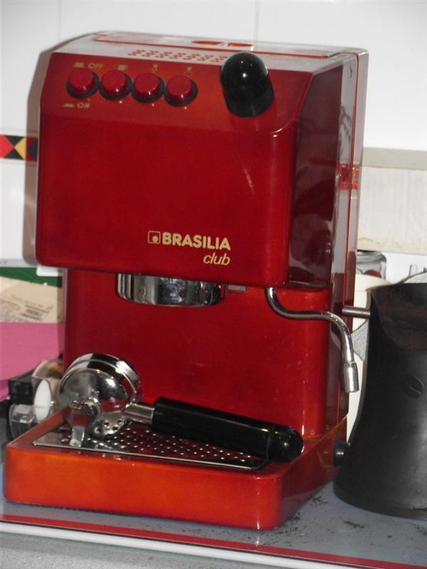 brasilia club steaming advice rh coffeesnobs com au Brasilia Espresso Machine Repair Brasilia Century Espresso Machine