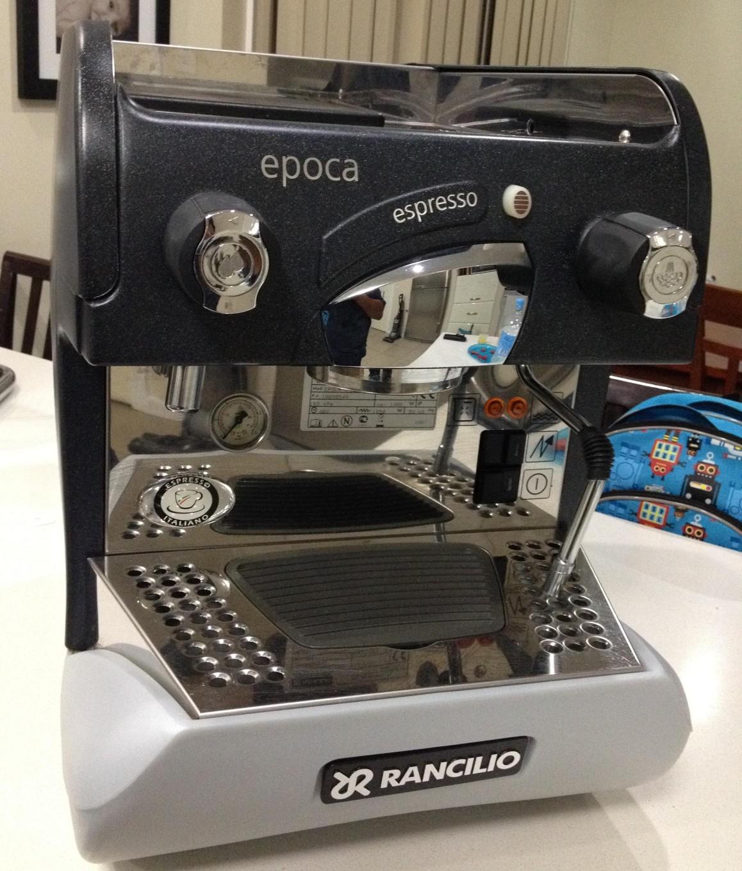 rancilio epoca st 1 espresso machine