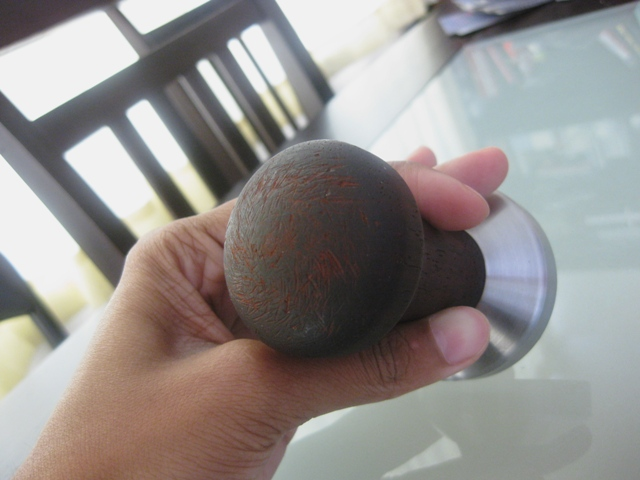 !!!SOLD!!! Possibly Rosewood Tamper 57mm 377g